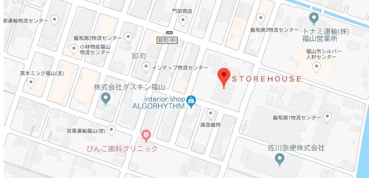 ストアハウス地図
